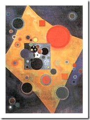 kandinsky 1926 accent in rose