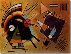 Kandinsky - Black And Violet