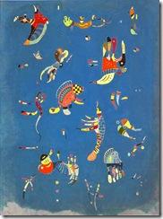 Kandinsky - Sky Blue