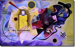 Kandinsky - Yellow, Red, Blue