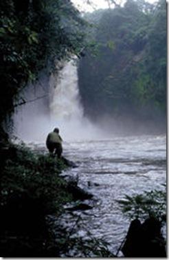 Cascada del rio Wele