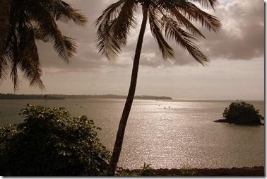 Costas de la isla de Bioko