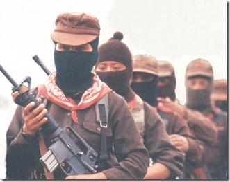 Mujeres guerrilleras Ejercito Zapatista