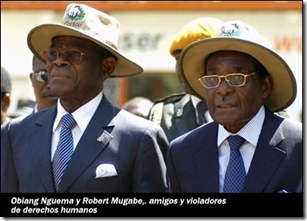 Obinag y Mugabe