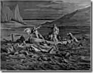 La travesia de la laguna Estigia - Gustave Doré