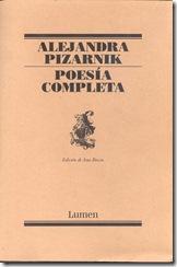 Portada libro Pizarnik