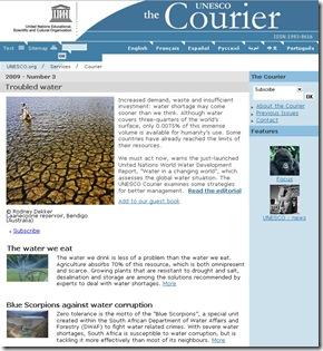 the Courier Unesco