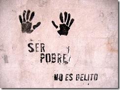Graffiti en Rosario - Ser pobre no es delito