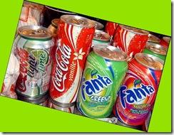 Latas de refresco