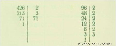Ejemplo máximo común divisor 4-1