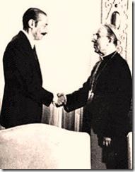Cardenal Samore y Videla Argentina