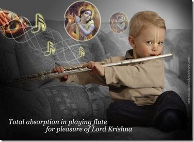 Niño con flauta