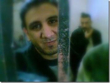 Karim Amer en la carcel