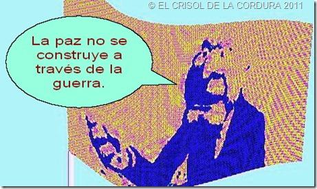 EL CRISOL DE LA CORDURA-NO A LA GUERRA 15