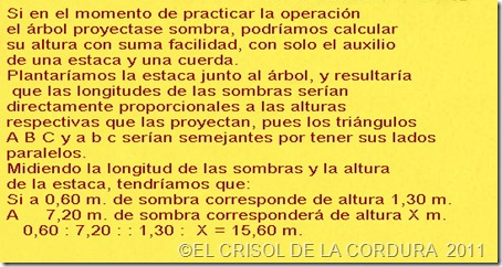 TRIGONOMETRÍA- EL CRISOL DE LA CORDURA 4