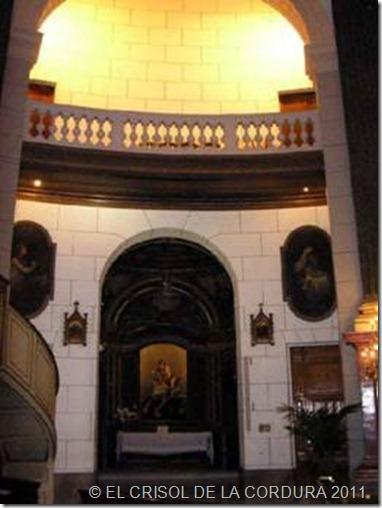 Basílica de la Caridad-EL CRISOL DE LA CORDURA