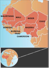 Map-Sahel