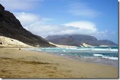 Playa de la isla de São Vicente, Cabo Verde-EL CRISOL DE LA CORDURA