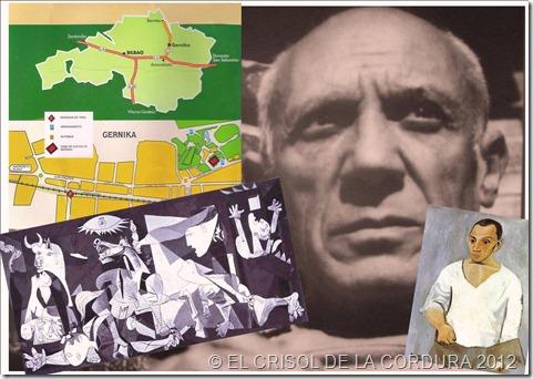EL CRISOL DE LA CORURA-Pablo Picasso-Gernika